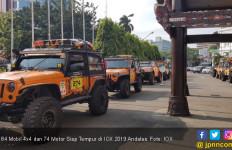 84 Mobil 4x4 dan 74 Motor Siap Tempur di IOX 2019 Andalas - JPNN.com
