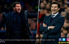 Derbi Madrid: Diego Simeone vs Santiago Solari - JPNN.com