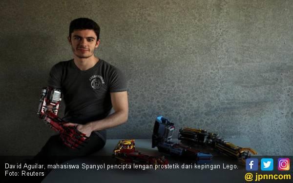 Mahasiswa Spanyol Ciptakan Lengan Prostetik dari Lego - JPNN.com