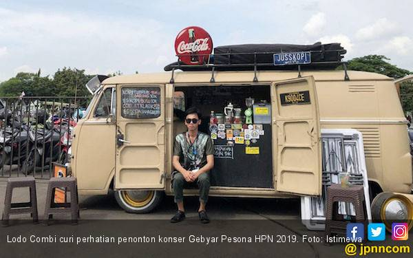 Foodtruck Curi Perhatian Penonton Konser Gebyar Pesona HPN 2019 - JPNN.com