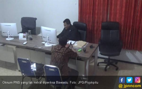 Sering Kirim Pesan soal Prabowo - Sandi di WA, Oknum PNS Diperiksa Bawaslu - JPNN.com
