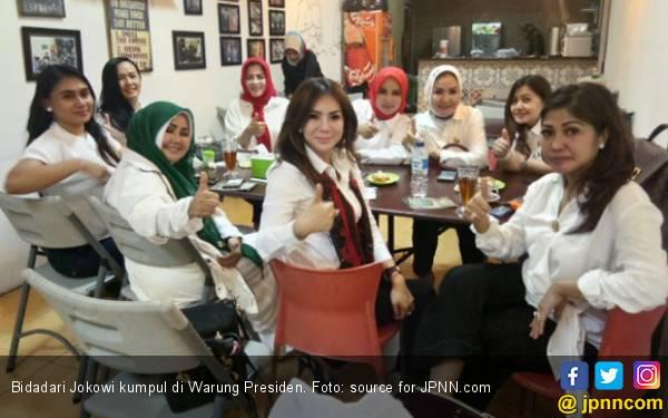 Bidadari Jokowi Canangkan Jumat Penuh Berkah - JPNN.com