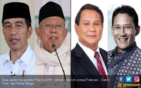 Prabowo Kalahkan Jokowi dalam Simulasi Pilpres 2019 di Bogor, Ini Datanya - JPNN.com