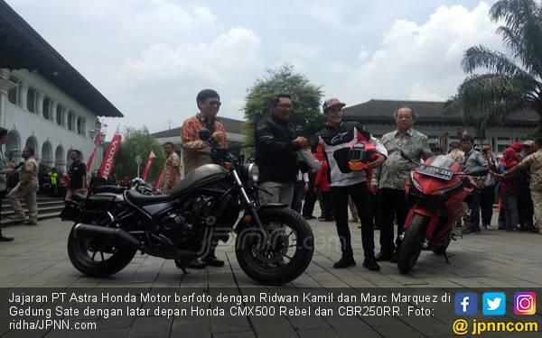 Honda CMX500 Rebel Terlihat Kontras dan Gagah, Harga Rp 156 Juta - JPNN.com