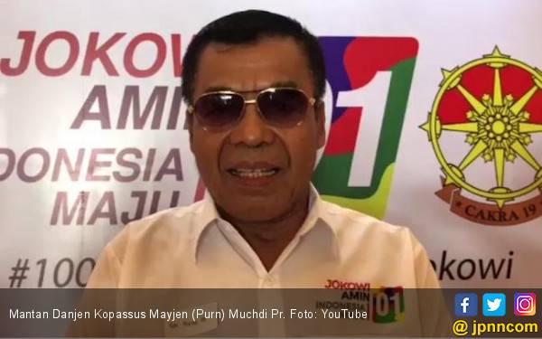 Muchdi Pr Eks Danjen Kopassus Lebih Sreg ke Jokowi ketimbang Prabowo - JPNN.com