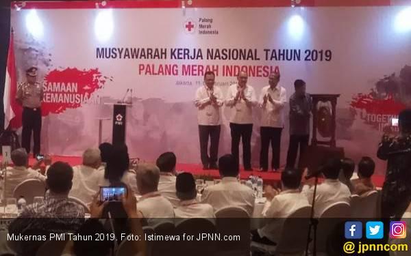 Mukernas PMI 2019 Bahas Bencana NTB, Sulteng, dan Tsunami Selat Sunda - JPNN.com