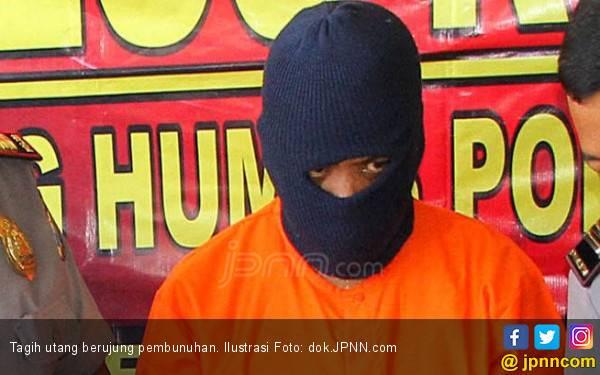 Tagih Utang sambil Bawa Golok, Craass! Banjir Darah - JPNN.com