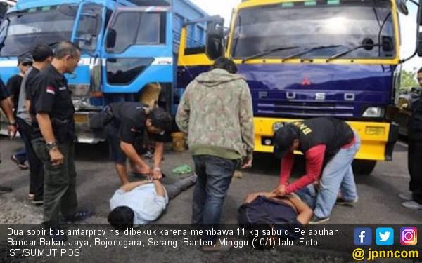 Tahanan Rutan Tanjung Gusta Kendalikan Pengiriman 11 Kg Sabu-sabu - JPNN.com