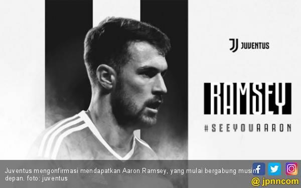 Aaron Ramsey Resmi Gabung Juventus, Gajinya Wow! - JPNN.com