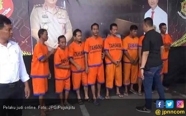 Polisi Sikat Sindikat Judi Online Internasional Beromzet Ratusan Juta - JPNN.com
