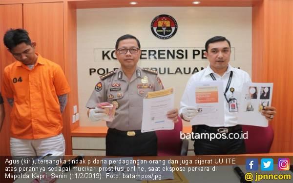 Polda Kepri Bongkar Bisnis Prostitusi Online di Batam - JPNN.com