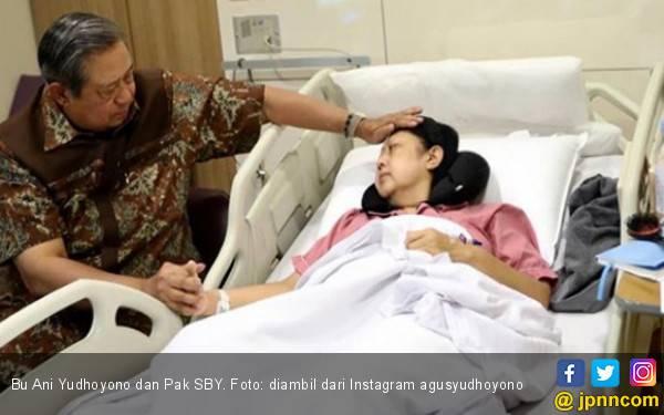 Sudah 3 Hari Bu Ani Yudhoyono Dirawat di ICU - JPNN.com