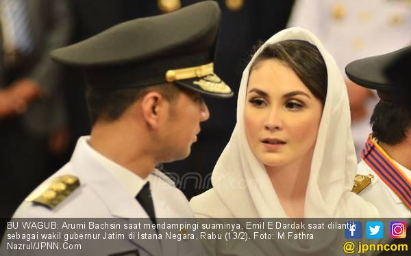 Ibu Ani Titip Salam untuk Arumi Bachsin - JPNN.com