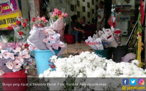 Jelang Hari Valentine, Penjualan Bunga Menurun - JPNN.com
