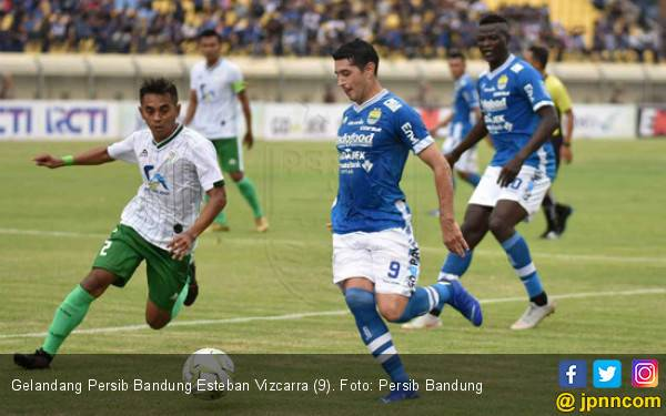 Alasan Esteban Vizcarra Makin Betah di Persib Bandung - JPNN.com