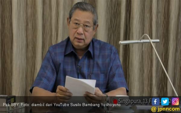 SBY Puji Pidato Kemenangan Jokowi, Lega Prabowo Tak Menyimpang dari Konstitusi - JPNN.com