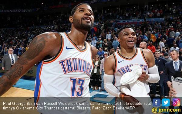 Russell Westbrook Pecahkan Rekor Berusia 50 Tahun di NBA - JPNN.com