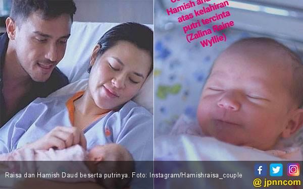 Ini Penampakan Wajah Anak Raisa dan Hamish, Bule Banget - JPNN.com