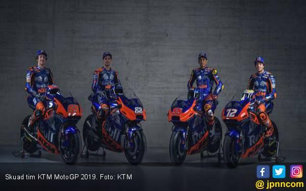 Semangat Baru, Tim KTM Mantap Jalani MotoGP 2019 - JPNN.com
