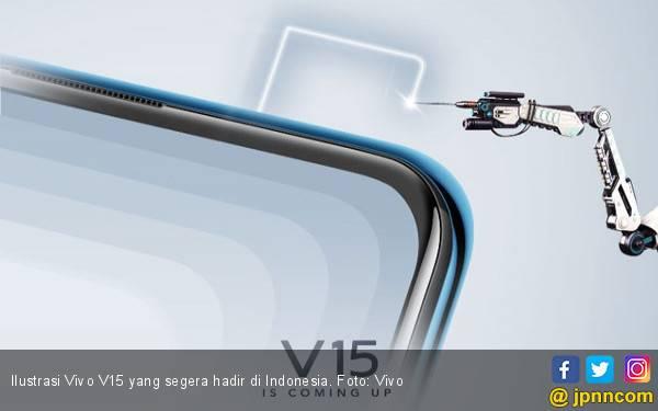 Jelang Peluncuran, Vivo Indonesia Ungkap Kamera Pop-up V15 - JPNN.com