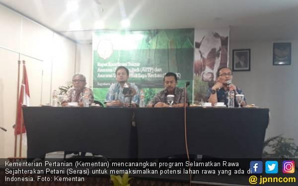 Garap Potensi Lahan Rawa Lampung dengan Program Serasi - JPNN.com