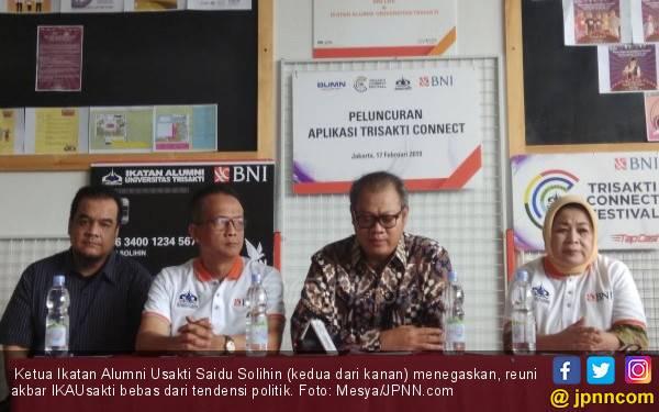 30 Ribu Alumni Universitas Trisakti Bakal Hadiri Reuni Akbar, Tanpa Bau Politik - JPNN.com