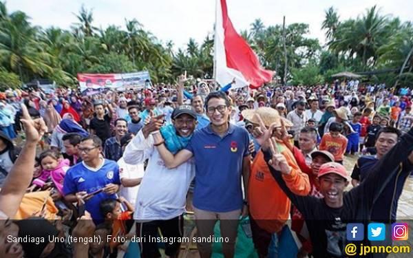 Sandiaga Uno Jawab Keluhan Kanang Nelayan dari Tuban - JPNN.com