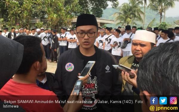 Ziarah ke Makam Kiai, Samawi Dapat Pesan dari Jokowi agar Doakan Bu Ani - JPNN.com