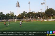 Timnas Indonesia U-22 Matangkan Skema Bola Mati di Sesi Latihan Terakhir - JPNN.com