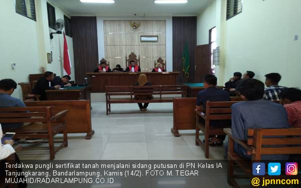 Terbukti Pungli, Oknum PNS ATR/BPN Pringsewu Divonis 6 Bulan Penjara - JPNN.com