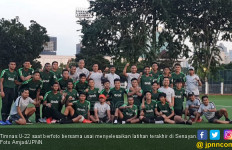 Gairah Luthfi Kamal Jelang Final Piala AFF U-22 - JPNN.com