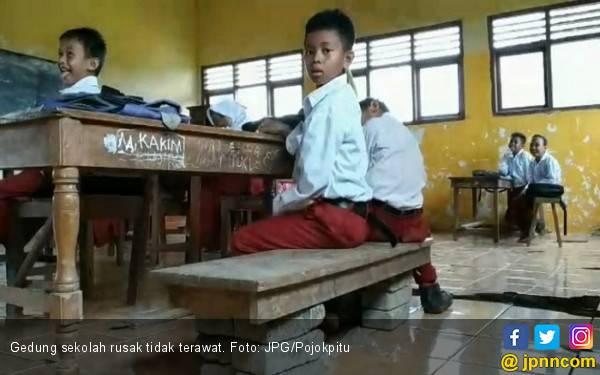 Kondisi Gedung Sekolah Miris Banget, Pemerintah ke Mana? - JPNN.com