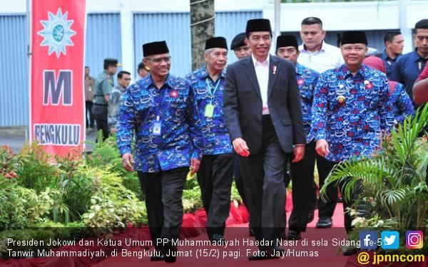 Jokowi: Terima Kasih, Muhammadiyah - JPNN.com