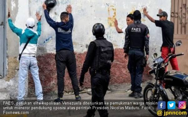 Cara Pasukan Elite Venezuela Menghabisi Pendukung Oposisi, Sangat Sadis - JPNN.com