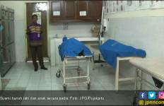 Tak Terima Dituduh Selingkuh, Suami Bunuh Istri dan Anak Bayi dengan Linggis - JPNN.com