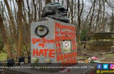 Makam Bapak Komunisme Jadi Sasaran Vandalisme - JPNN.com