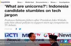 Berita Aljazeera Sebut Prabowo Kesandung Unicorn - JPNN.com