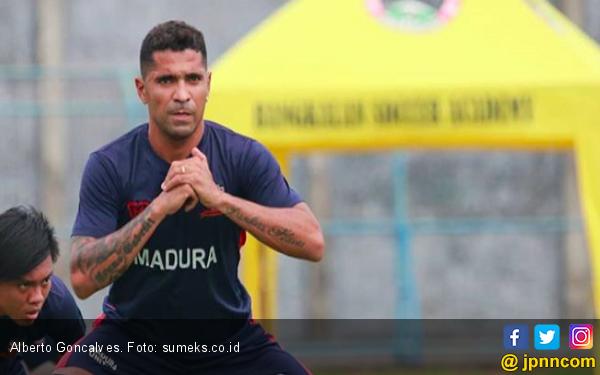 Bomber Madura United Beto Goncalves Ungkap Ambisi Pribadi - JPNN.com