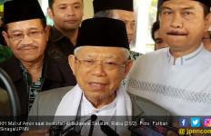 Abah Ma'ruf Mantapkan Kemenangan di Tanah Kelahiran JK - JPNN.com