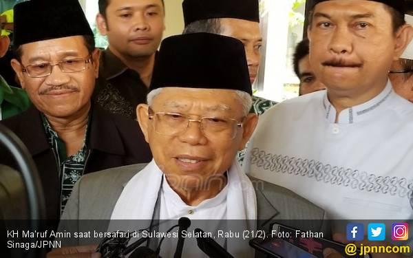 Kiai Ma'ruf Amin: Buya Syafii Sangat Marah dengan Puisi Neno Warisman - JPNN.com