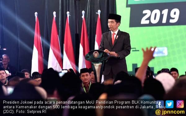 GoJo Apresiasi Optimisme Jokowi Membangun Indonesia - JPNN.com