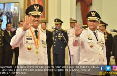 Syamsuar - Edy Resmi Pimpin Riau Periode 2019 - 2024 - JPNN.com