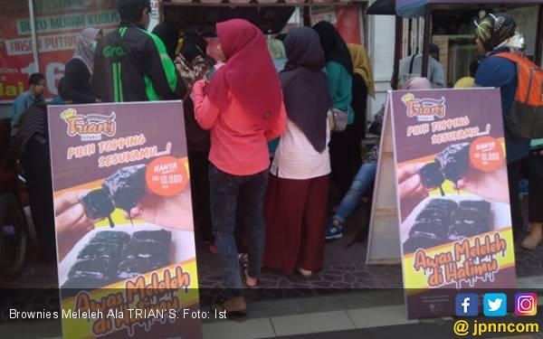 Coba Buka Franchise Kuliner Kekinian Brownies Meleleh ala Trian's - JPNN.com