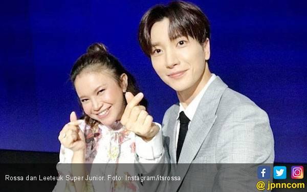 Rossa Ingin Ajak Liburan Leeteuk 'Super Junior' ke Bali - JPNN.com