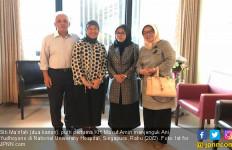 Putri Ma'ruf Amin Temui Ani Yudhoyono di Singapura - JPNN.com