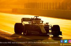 Tes Pramusim F1 2019: 2 Pembalap Mercedes-AMG Fokus Uji Ketahanan Ban - JPNN.com