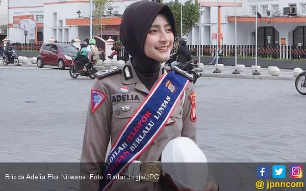 Hai Milenial, Ini Ada Pesan dari Polwan Cantik Yogyakarta - JPNN.com