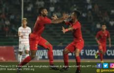 Indonesia Optimistis Bisa Kalahkan Vietnam di Semifinal Piala AFF U-22 - JPNN.com
