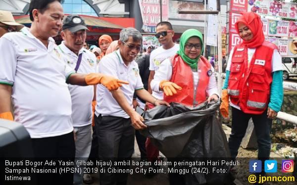 Bupati Bogor Ade Yasin Berbagi Kiat Atasi Sampah - JPNN.com