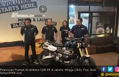 Mengaspal di Indonesia, Triumph Scrambler 1200 XE Dibanderol Rp 500 Juta Lebih - JPNN.com